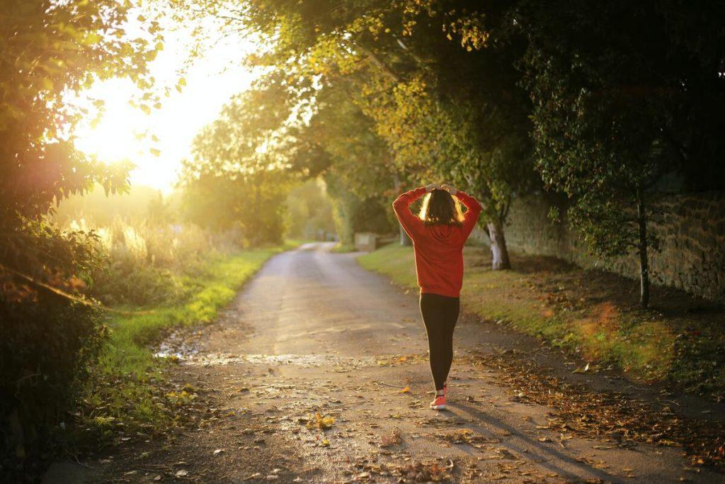 jogging before work