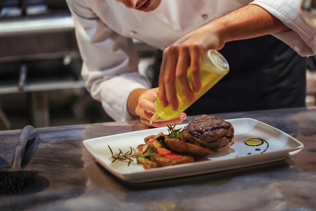 high end steak restaurant