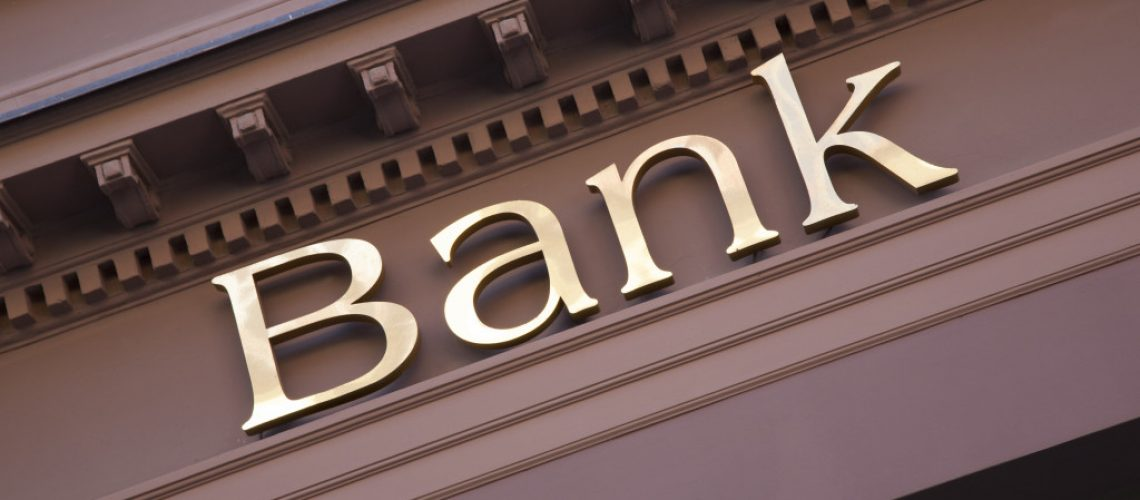 edifice of a bank