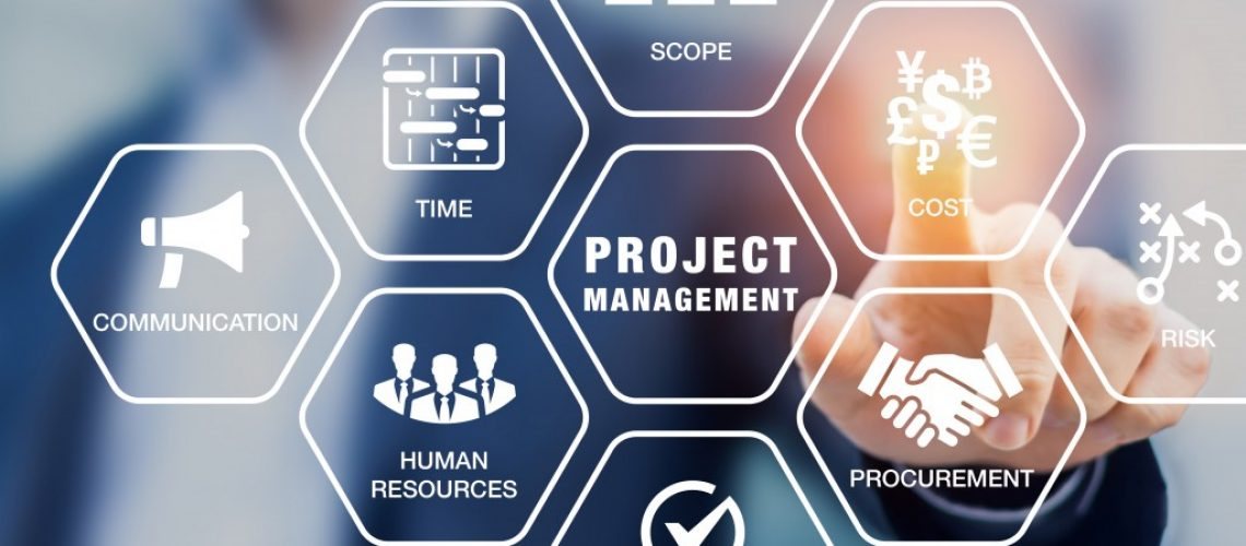 man doing project management strategies