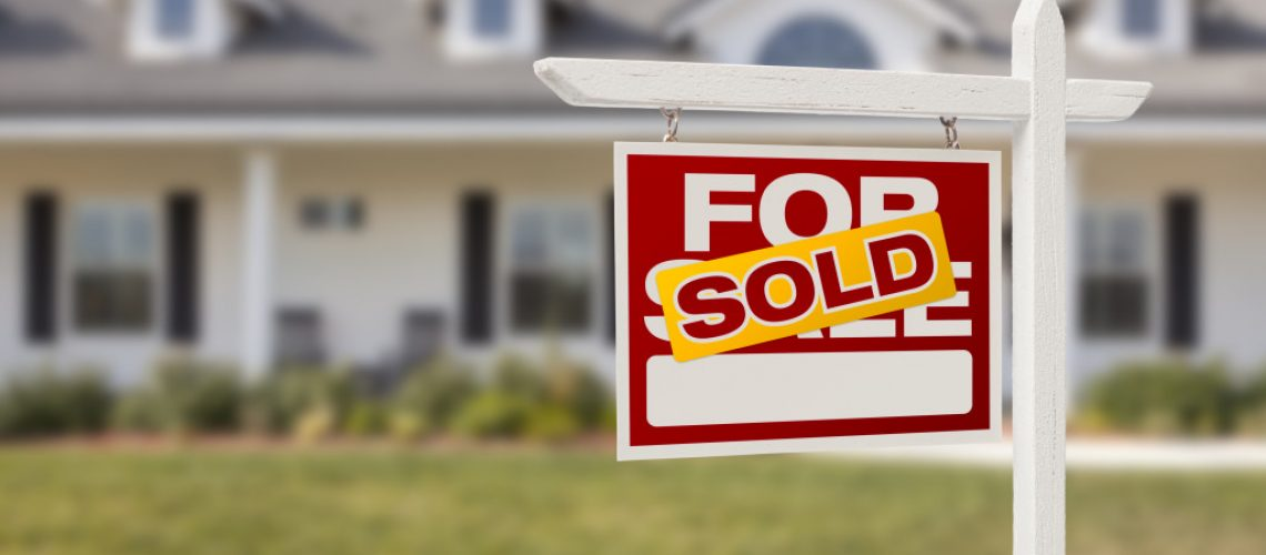 a sold real estate property