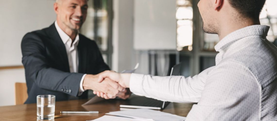 hand shake agreement